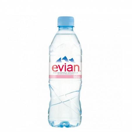 L'eau minérale naturelle Evian est une eau faiblement minéralisée, qui peut-être bue par tous et tous les jours.